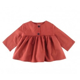 Button Shirt - Brick Red