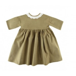 Furbelows Dress - Khaki