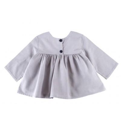 Button Shirt - Mauve Grey
