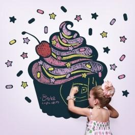 Chalkboard Sticker Cupcake