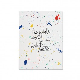 Petit Book - The whole world is an artist pallet