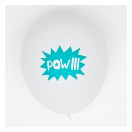 Set of 5 Printed Balloons - Super Hero
