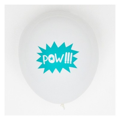 Set of 5 Printed Balloons - Super Hero