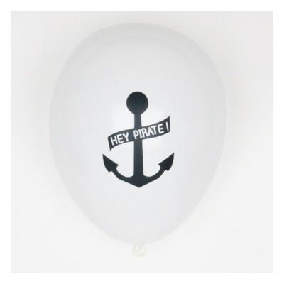 Set of 5 Printed Balloons - Pirate