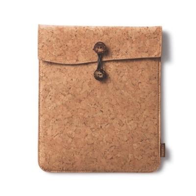 Cork Fabric iPad Travel Case