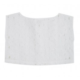 Linnen Cropped Top - Lace
