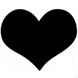 Chalkboard Sticker Heart