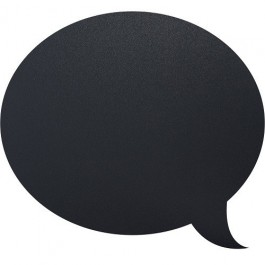 Chalkboard Sticker Speech Bubble