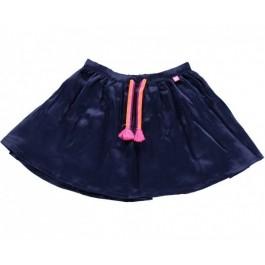 Satin Blue Skirt
