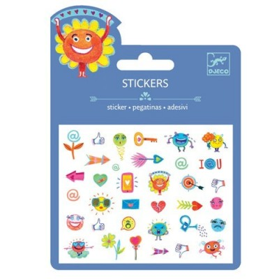Puffy Stickers Symbols