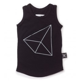 Geometric Patch Tank Top