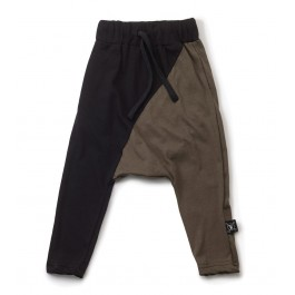 Baggy Pants Black & Olive