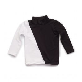 Rash Guard Black & White