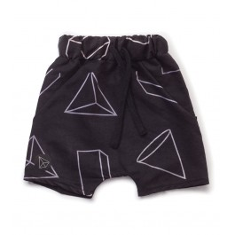 Geometric Baggy Surf Shorts