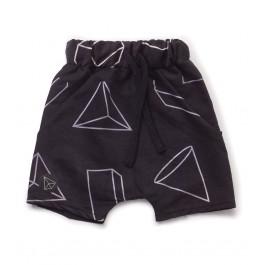 Παιδικό μαγιό για αγόρια -Geometric Baggy Surf Shorts
