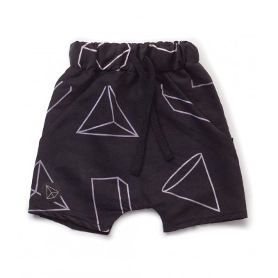 Geometric Baggy Surf Shorts