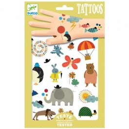 Temporary Tattoos Animals