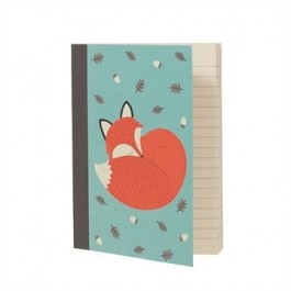 Rusty the Fox A6 Notebook