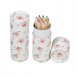 Petite Rose set of 12 coloring pencils