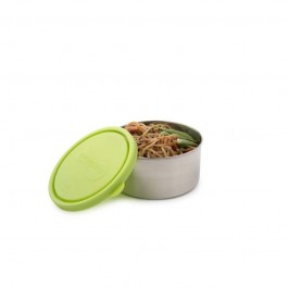 Round Large Container - Lime