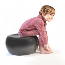Bamboo Stool Balck - Mello Medium