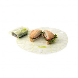 Large Food Kozy Wrap - 2 Pack - Clear Lime