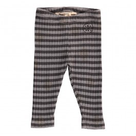 Baby Legging Stripes Grey