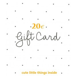 Gift Card 20,00 Euro