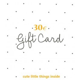 Gift Card 30,00 Euro