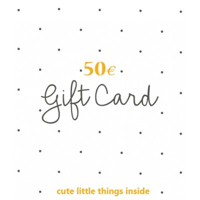 Gift Card 50,00 Euro