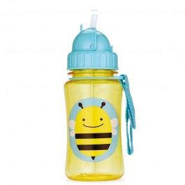 Παγούρι με ενσωματωμένο καλαμάκι -  Μέλισσα