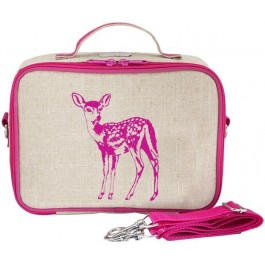 Insulated Lunch Box- Pink Fawn