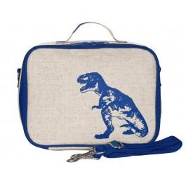 Ισοθερμική τσάντα φαγητού - Blue Dinosaur