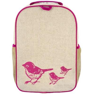 Σχολική τσάντα - Pink Birds