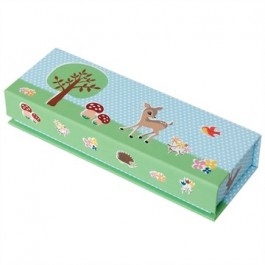 Magnetic Pencil Case - Woodland