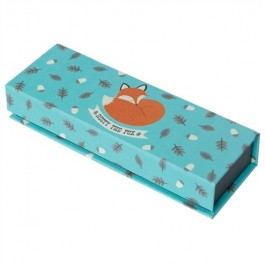 Magnetic Pencil Case - Rusty the Fox