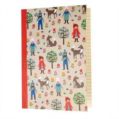 Notebook Α5 - Red Riding Hood