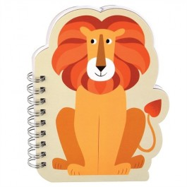 Notebook Spiral - Lion