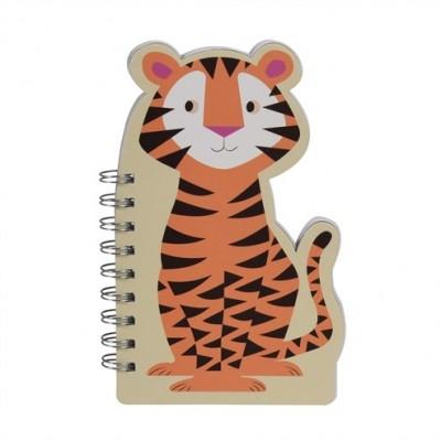 Notebook Spiral - Tiger