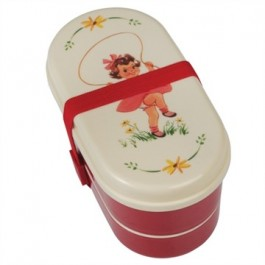 Bento Lunch Box - Vintage Girl
