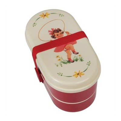 Bento Box Φαγητού - Vintage Girl