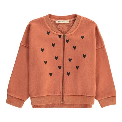 Sweatshirt Heart - Loose Zip up