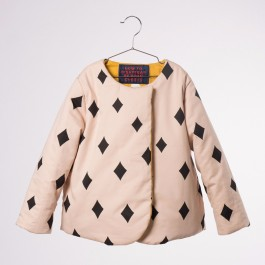 Reversible Jacket - Diamond Pale pink