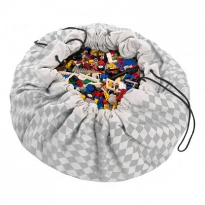Τσάντα αποθήκευσης παιχνιδιών 2 σε 1