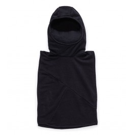 Knight Poncho - Black