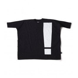 Exclamation Box Dress - Black