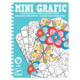 Mini Graphic - Flowers Colouring Cards