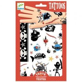 Παιδικά τατουάζ - Πειρατές