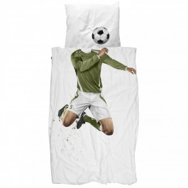 Duvet Cover Set - Soccer Champ Green