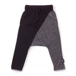 1/2 Baggy Pants Black and Charcoal